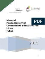 Manual de Procedimientos CEL