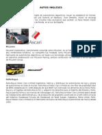 FABRICANTES DE AUTOMIBILES, EUROPEOS, AMERICANOS, ASIATICOS.docx