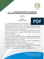 Estatuto Coord Nacional Umpismocnu 2009 Ipib