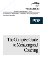 Complete Guidelines for Mentoring
