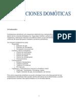 INSTALACIONES DOMÓTICAS RESIDENCIALES