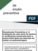 Plano de Manutenção Preventiva