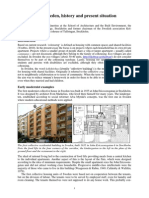Dick Urban Vestbro - Cohousing in Sweden, History and Present Situation