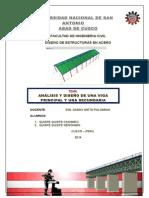 Analisis y Diseño Hangar - Aceros