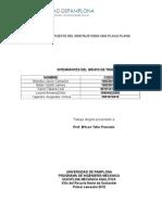 informe de centroides y áreas planas