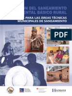 Manual Para Las Areas Tecnicas Municipales de Saneamiento