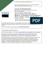 Comparative LGBT Paper