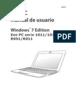 ASUS 6701 EeePC 1015 Win7