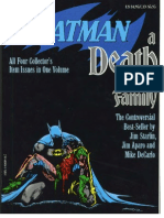 Dc Comics Graphic Novel - Batman - A Death in the Family