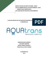 Elaboração de plano de negócios - Transporte Marítimo