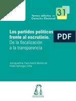 Jaqueline P. Los Partidos Políticos Frente Al Escrutinio.
