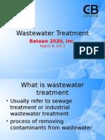Waste Water Treatment Presentation