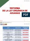 Reforma de La Ley Organica de Aduana 2015