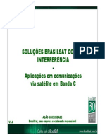 LNB Solução Brasilsat Interferencia