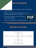 Sobre las funciones del lenguaje