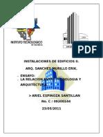 Relacion Entre Arquitectura y Tecnologia