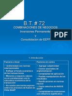 Boletín Técnico 72