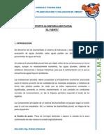 PROYECTO ALCANTARILLADO PLUVIAL