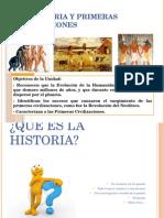 Unidad Prehistoria y Civilizaciones