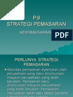 Strategi Pemsaran