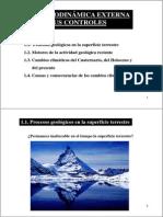 Geodinamica Externa y Sus Controles