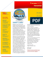 Corona MOPS Newsletter