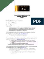 technology integration activity