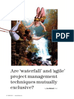 PMToday Mar 12 Are Waterfall and Agile Project Managements Techniques Mutually Exclusive
