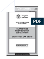 Parametros San Isidro