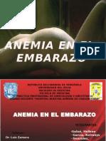 Anemia en El Embarazo1