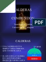 Calderas Combustion