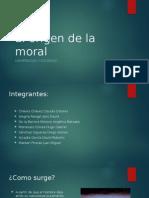 Origenes de La Moral