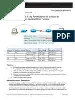 Administración de archivos de configuración del router mediante HyperTerminal