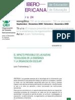Revista Interamericana de Educación Num. 24