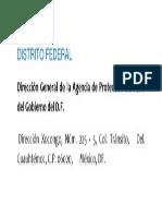 9 Distrito Federal