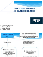 Nutricion de Los Carbohidratos
