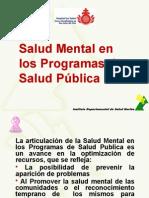 Salud Mental en Programas de Salud Publica Municipios