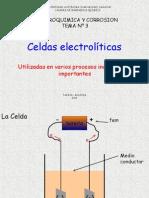 TEMA III Celdas Electrolítica