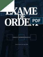Direito Administrativo - Exame de Ordem
