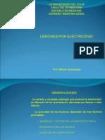 15. Quemaduras Por Electricidad