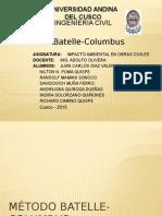 Metodo Batelle Columbus