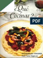 Superb Que Cocinar  Libro Gastronomico