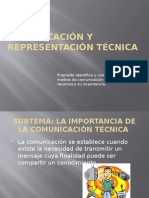 Comunicación y Representación Técnica