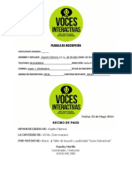 Recibo Argeni Palencia - Voces Interactivas