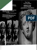 Spengler, Pensador de La Decadencia. 2 Edicion- H. Cagni y v. Gonzalo Massot