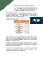 Propiedades y Características de Los Cementos Especiales