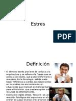 Estres - definicion