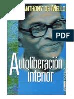 Autoliberacion Interior - Anthony de Mello