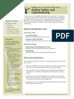 online safety cyberbullying pdf