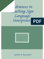 23042015 Advances in Teaching Sign Language Interpreters Chp1